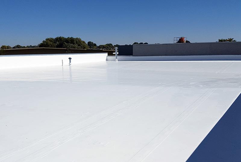 Single-Ply Roof Restoration