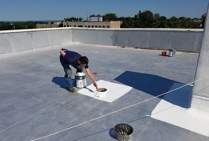 Smooth Built-Up Roof Restoration